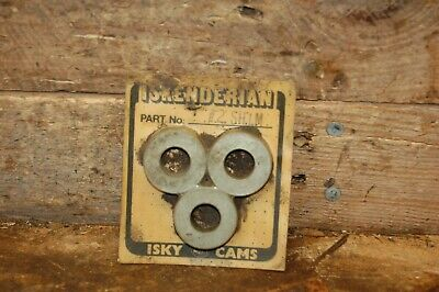 NOS Isky cams  Iskenderian #2 valve spring shims vintage hot rod parts