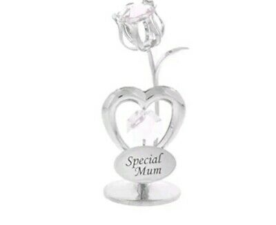 Mothers Day Crystocraft Tulip  Special Mum - Crystals Swarovski Mothers Day Gift