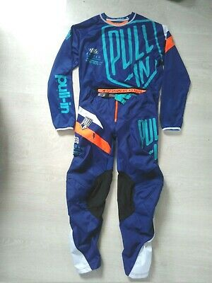 Beachwear Motocross BMX Pull-in Blau 32US/L Angebot Quasi Neu