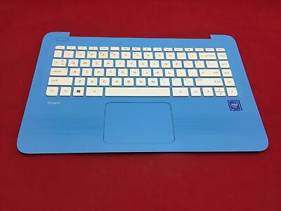 GENUINE HP 14-AX010WM 14-A SERIES KEYBOARD TOUCHPAD TOP CASE PALMREST 905570-001