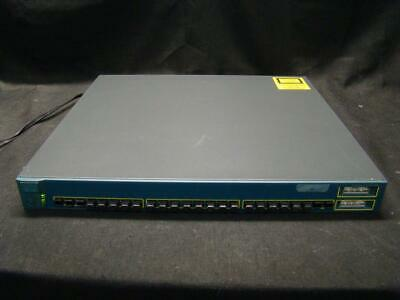 Cisco WS-C3550-24-FX-SMI 24-ports 100FX and 2 GBIC-based Gigabit Ethernet ports