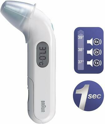 Braun ThermoScan 3 Infrared Thermometer Baby Children infant IRT3030+ 40 lenses