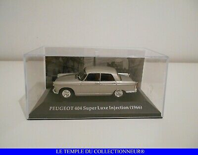 Voiture Miniature 1/43 : Peugeot 404 Super Luxe Injection - 1966 - IXO
