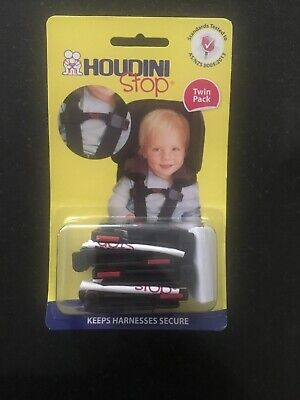 Houdini Stop Baby Car Seat Safety Chest Strap Child Safety Twin Pack