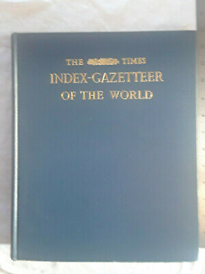 The Times Index-Gazetteer of the World, first American edition (1966)
