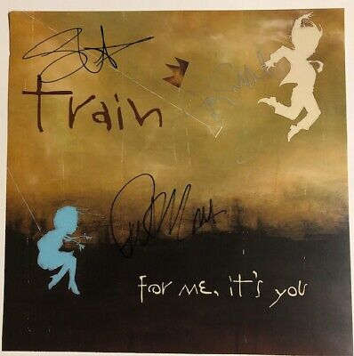 SUPER NICE - TRAIN - Autographed Promo Flat - Signed By All Band Members