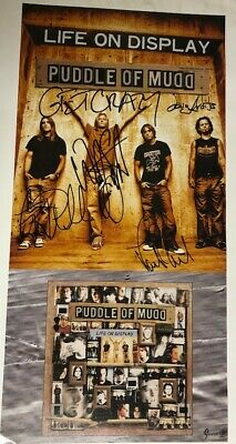 Super Sweet - PUDDLE OF MUDD - Autographed Poster - Signed By All Band Members