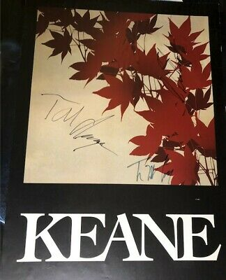 Amazing - KEANE - Autographed Poster - Signed By All Band Members
