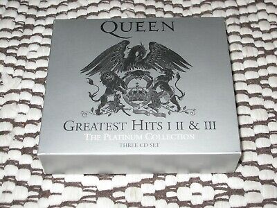 QUEEN - Greatest Hits,  I  II & III,  The Platinum Collection,  2011,  Rock,