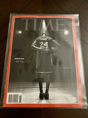 SHIP NOW Time Magazine New Commemorative Cover Kobe Bryant Special Packaging