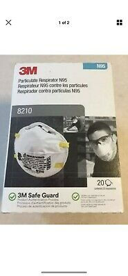 3M N95 Performance RESPIRATOR Mask Paint Prep Filtration 20PACK 8210 P2-DC