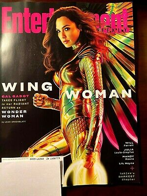 ENTERTAINMENT WEEKLY MAGAZINE March 2020 GAL GADOT WONDER WOMAN