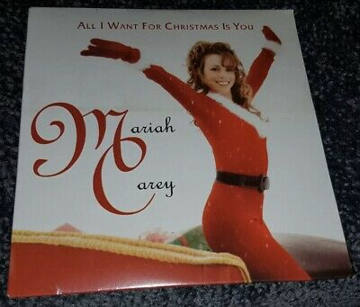Mariah Carey 2019 CD Single All I Want For Christmas Is You New VGC Wow Unplayed