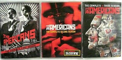 THE AMERICANS Complete First Second & Third Seasons DVD 1st 2nd & 3rd NEW SEALED