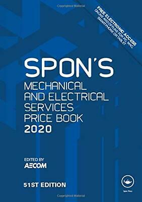 Spons Mechanical and Electrical Services Price Book 2020 Spons Price Books