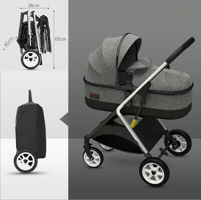 Foldable Infant Baby Stroller Pram Compact Lightweight Travel Carry-on Pushchair