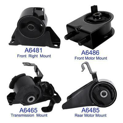 Rear Motor Mount A6485 for Mazda Protege 1.8L 1999-2000 2.0L 2001-2003