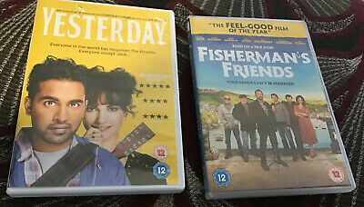 Two DVD's. Yesterday - 2019 & Fisherman's Friends 2019