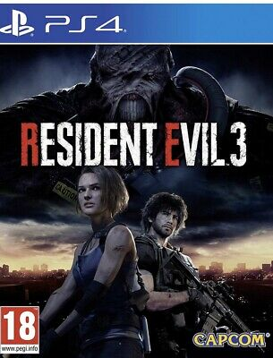 Resident  Evil 3 Ps4-ITA-Pre-order  +Patch uff.S.T.A.R.S Raccoon City Police Dep