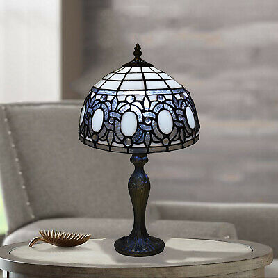 """Handcrafted Antique Design Tiffany Lamp Table Bedside 10"""" inch Shade Home Decor"""