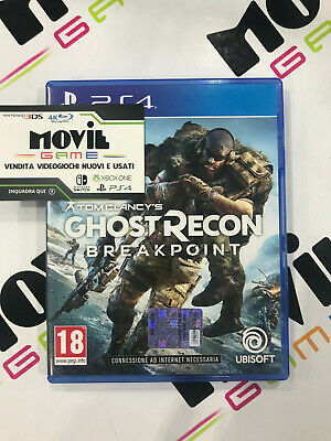 TOM CLANCY'S GHOST RECONper Playstation 4 PS4 italiano USATO garantito