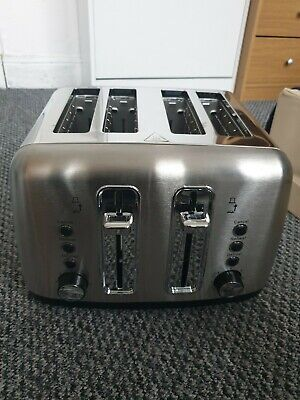 Toaster Quality Styled 4 Slice Toaster Stainless Steel For Kitchen NEW/OTHER