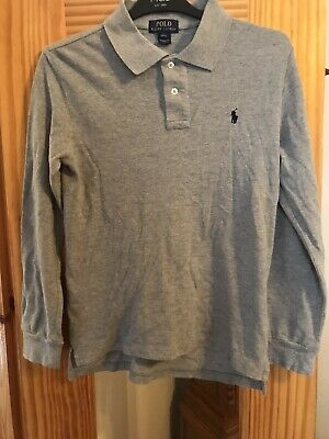 Boys Ralph Lauren Polo Shirt,Size Large,Grey, 14-16 years