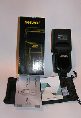 Flash Neewer Speedlite Nw-670 Para Canon ,Perfecto (Mint Condition)