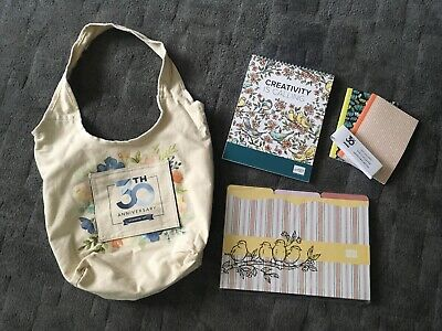 Stampin Up 30th Anniversary Bag Notebooks Folders