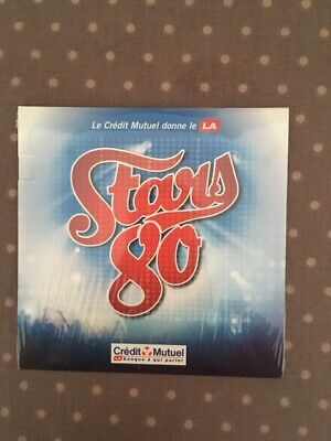 STARS 80 - CD collector exclusif 10 titres credit mutuel (NEUF,EMBALLE)