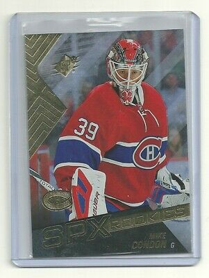 2015-16 SPx #120 Mike Condon RC MONTREAL CANADIENS ROOKIE