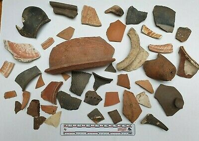 Authentic Ancient Roman Empire, 1st - 3rd c. AD. Pottery sherd collection #1