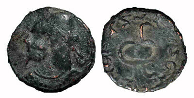 (15101) Early Chach AE coin, ruler Vanvan.