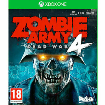 Zombie Army 4 Dead War XBOX ONE New and Sealed IN STOCK NOW