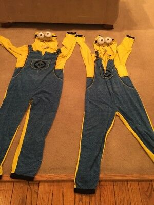 Two Adult Minion Costumes