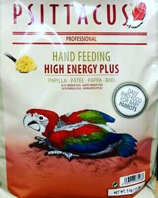 Psittacus High Energy Plus Hand Feeding  5Kg