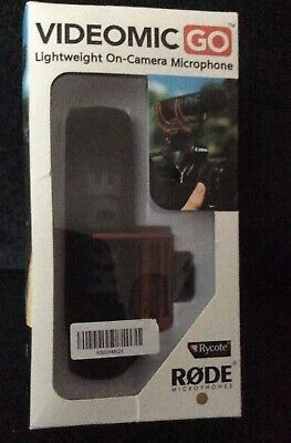 Videomic Go Lightweight On Camera Microphone Rode New In Box