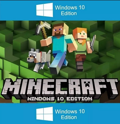 Minecraft Windows 10 Edition Key Worldwide - PC fast Delivery 100% Version