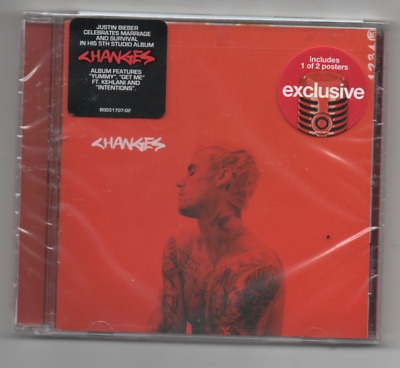 Justin Bieber Changes Limited Edition Target Exclusive CD Includes Poster Yummy