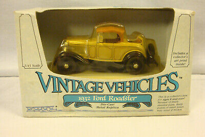 1932 Ford Roadster Die-Cast Car 1:43 Scale- Unopened Box