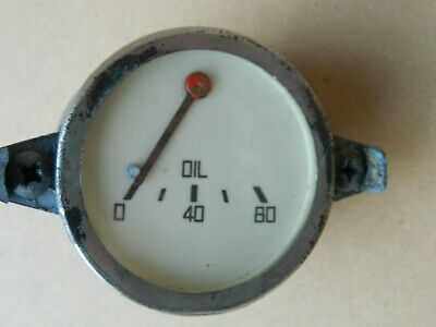 Vintage Morris Minor Mm Oil Pressure Gauge...rare !!