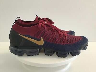 Nike Air Vapomax Flyknit 2.0 Olympic Team Red Wheat Obsidian:Mens Size 12 M