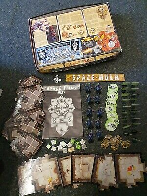 Space hulk board game, games workshop, 1st edition, 1989, No space marine figure