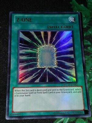 YuGiOh Z-ONE Ultra Rare WC11-EN003 Promo Edition Moderately Played