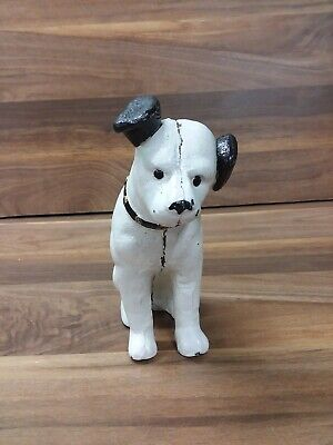 Vintage RCA Victor Nipper The Dog Cast Iron Bank