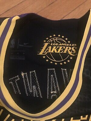 Nba Lakers Kobe Bryant Authentic Nike City Edition Lore series jersey (44) NWT