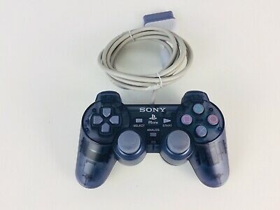 Official Sony PlayStation PSONE PS1 Analog Controller Transparent