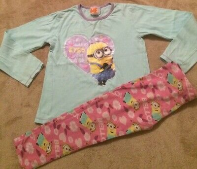 Despicable Me Girls Minion Pyjamas Age 5-6Years