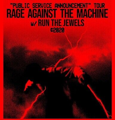 1 Rage Against The Machine Ticket NYC MSG 8/11 Lower Level NEXT TO STAGE!