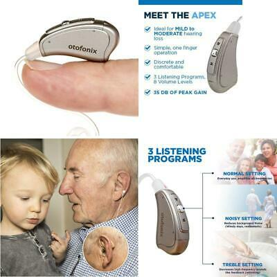 Mini Hearing Amplifier Device For S And Senior, Digital Bte Ear Aids, Personal S
